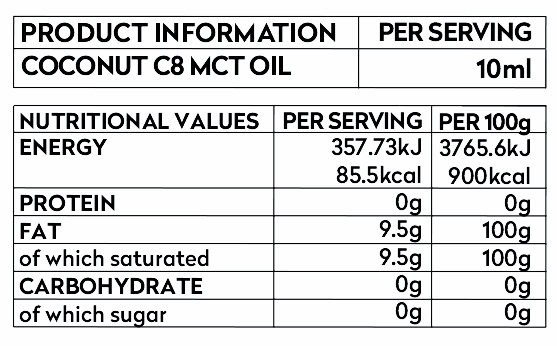 keto-c8-mct-oil-product-information